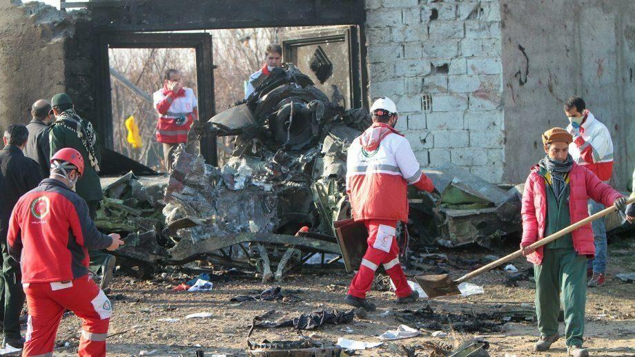 Киев выплатит по 8300 долларов семьям украинцев, погибших при авиакатастрофе в Иране