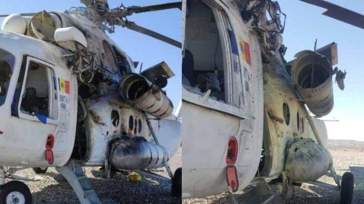 В Афганистане в военный вертолет, принадлежащий молдавской компании, попала ракета