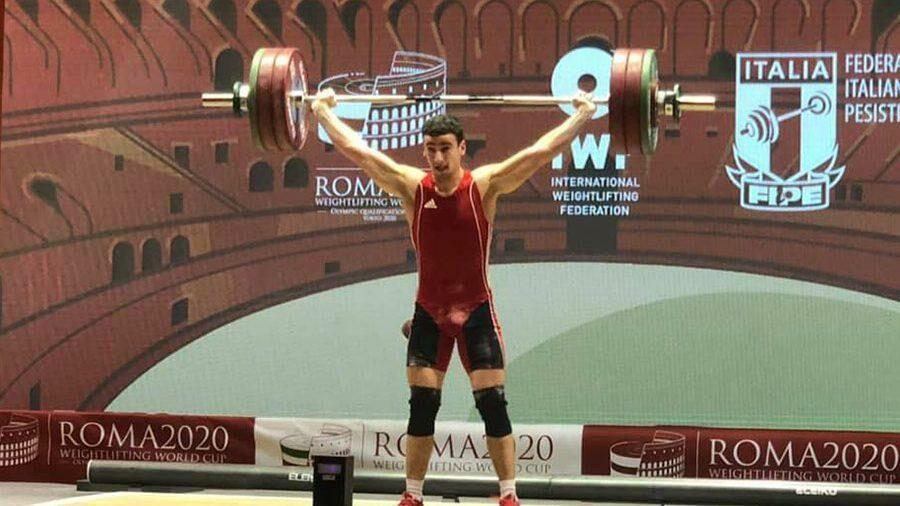 Молдавский тяжелоатлет Марин Робу завоевал три медали на Кубке мира