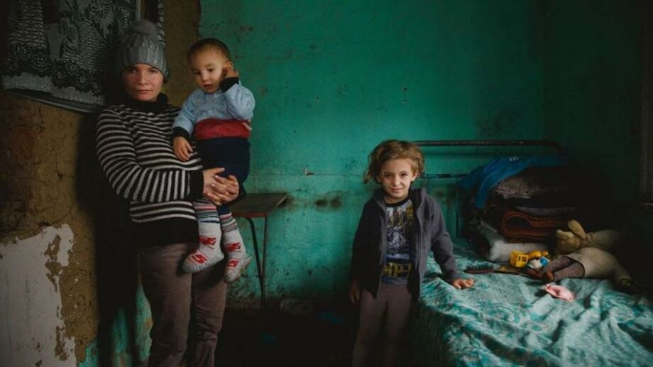 Картинка бедной семьи