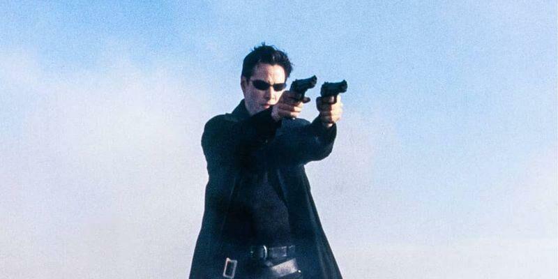 (видео) В сети появились кадры со съемок «Матрицы 4»