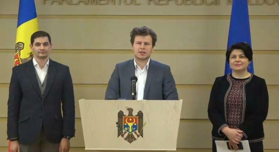 (документ) Депутаты Партии «Действие и Солидарность» представили проект «Молдова без наличных»