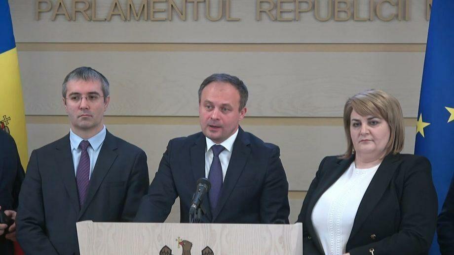 (видео) Шесть депутатов ДПМ заявили о выходе из фракции Демократической партии