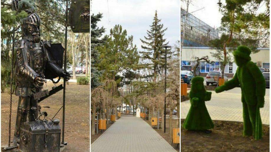 (фото) Работы по обустройству сквера Мезон завершены. Как он выглядит сейчас и какие еще проекты планируют реализовать в этом году
