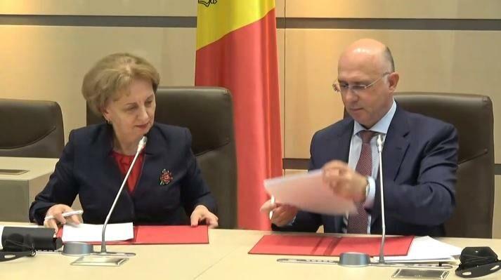 (видео) ПСРМ И ДПМ подписали соглашение о коалиции для формирования парламентского большинства