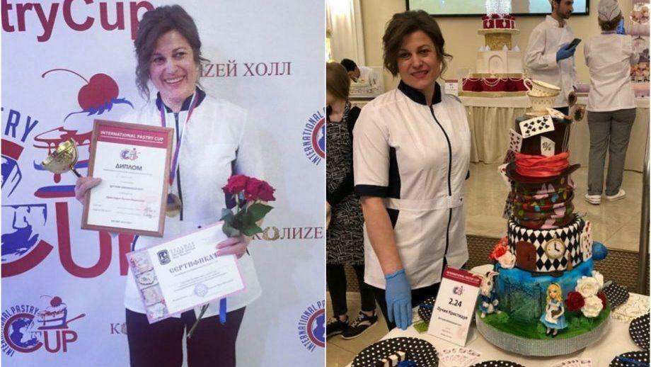 Кондитер из Молдовы Лучия Дубчак заняла первое место на международном конкурсе Pastry Cup