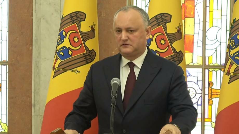 Додон сообщил о 10 решениях, принятых на заседании Высшего совета безопасности