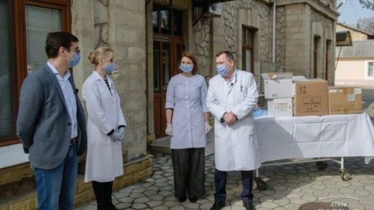 Винодельня Bardar передала больнице Тома Чорбэ новейший гематологический анализатор