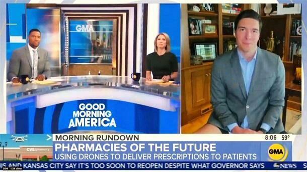 Корреспондент ABC появился в утреннем шоу без брюк: он вел трансляцию из дома и думал, что этого никто не видит