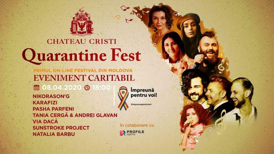 Quarantine Fest, первый музыкальный онлайн фестиваль в Молдове – это качественная музыка, солидарность и взрыв позитивных эмоций!