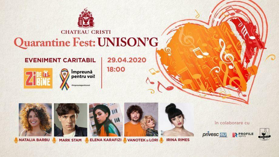 Quarantine Fest: UNISON`G – необычный фестиваль, который преодолевает границы с помощью музыки и благотворительности