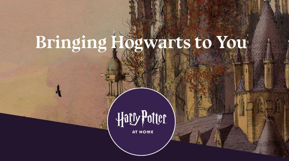 Джоан Роулинг запускает онлайн-платформу «Гарри Поттер дома» со всевозможными развлечениями