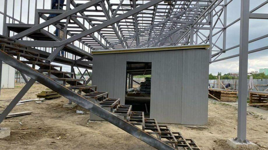 (фото) Работы по строительству стадиона в парке La Izvor в столичном секторе Буюканы завершены на 60%