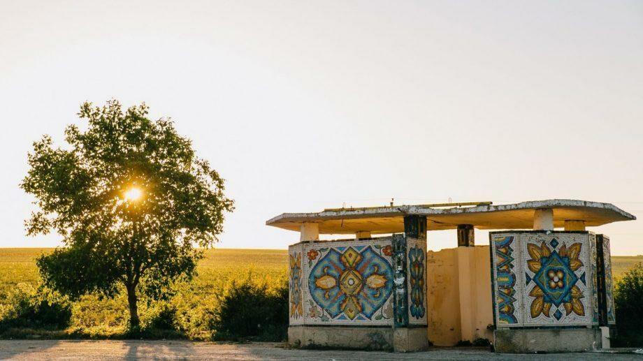 (фото) Мозаичные остановки Молдовы в проекте фотографа из Унген Серджиу Котруцэ