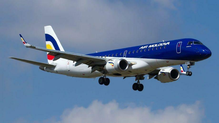 Компания Air Moldova продлевает ограничения на авиаперелеты до 30 июня 2020 года