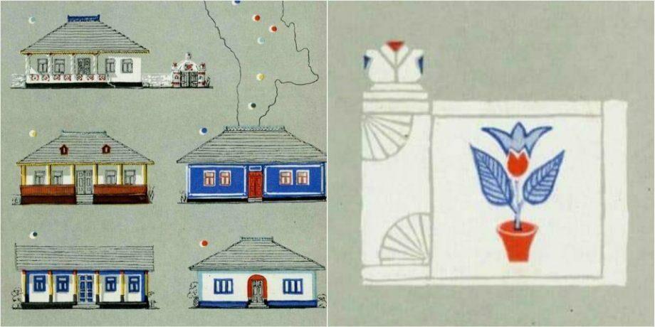 (фото) Архитектура сельских жилых домов в Молдове