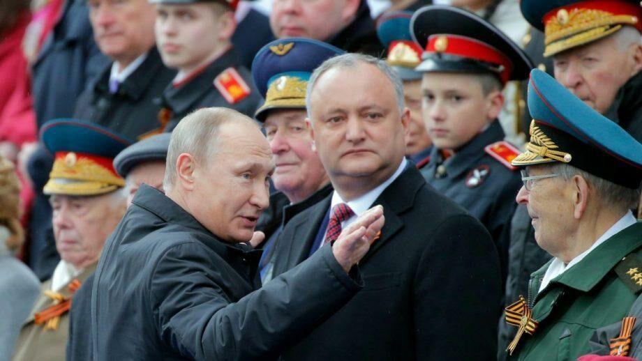 Игорь Додон примет участие в параде Победы в Москве 24 июня