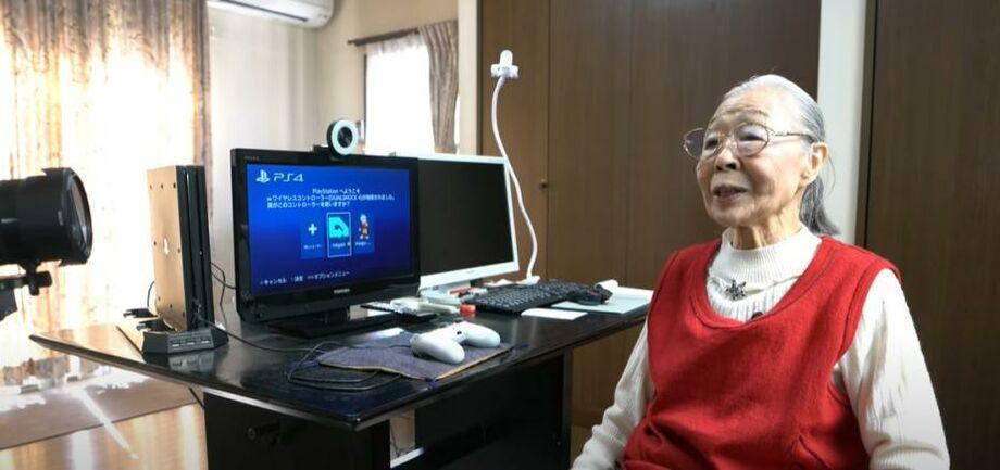 (видео) Gamer Grandma. 90-летняя японка попала в Книгу рекордов Гиннесса как самый пожилой геймер в мире