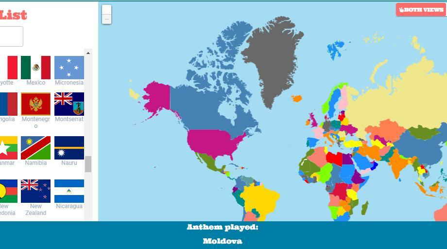 Может пригодиться когда-то: сайт, где собраны гимны всех стран мира