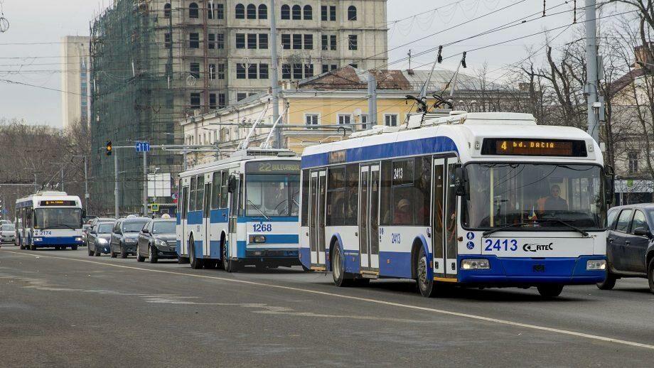 В эти и следующие выходные общественный транспорт в Кишиневе и Бельцах не будет работать