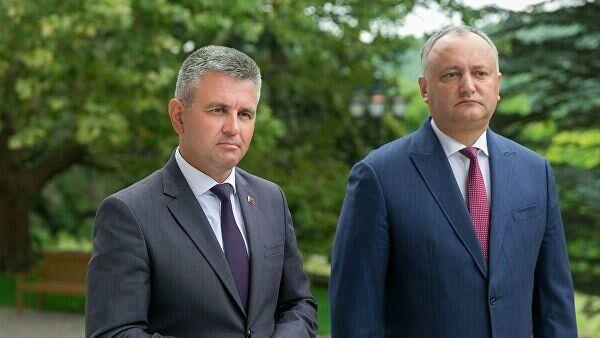 Игорь Додон и Вадим Красносельский договорились об упрощении перемещения граждан между двумя берегами Днестра