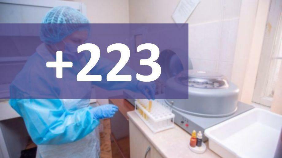 В Молдове подтвердили 223 новых случая коронавируса