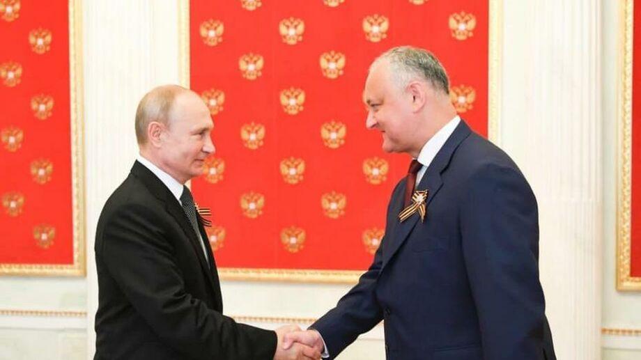 Игорь Додон: «Процесс начался». Минфин России готов возобновить переговоры по кредиту в 200 млн евро