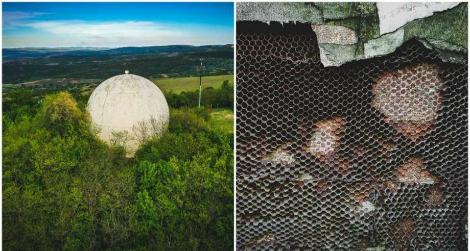 (фото) В Унгенском районе есть «загадочный шар». Как туда добраться