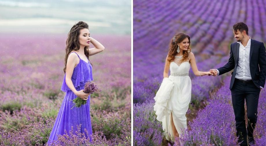 (фото) Чарующие пейзажи: список лавандовых полей в Молдове, куда ездят пофотографироваться