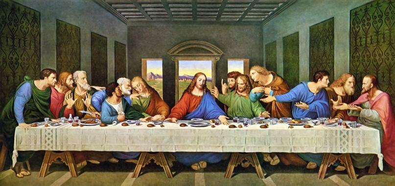 (фото) Google оцифровал копию «Тайной вечери» Леонардо да Винчи в сверхвысоком разрешении