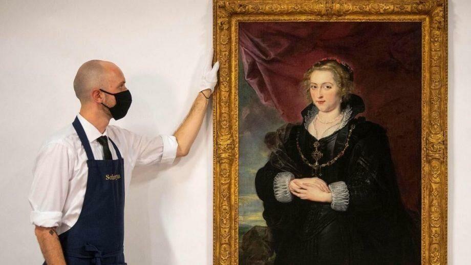 У британской семьи почти 140 лет хранилась картина фламандского художника Питера Пауля Рубенса