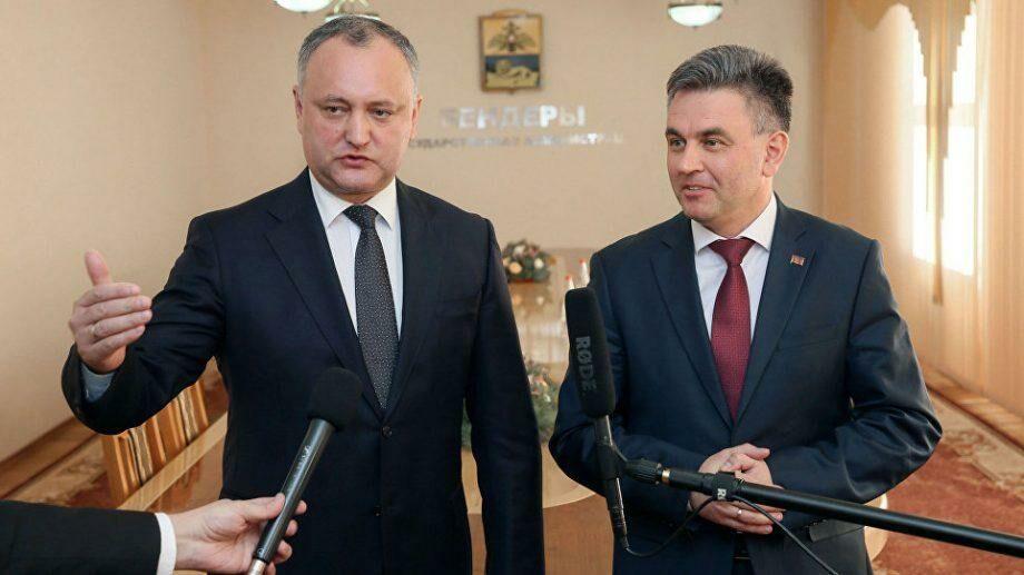 Игорь Додон встретится с главой Приднестровского региона Вадимом Красносельским в конце июля