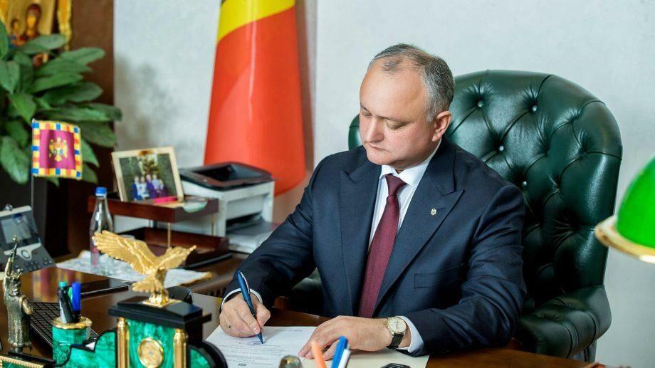 Додон промульгировал пакет законов, по которым Правительство РМ взяло на себя ответственность перед Парламентом