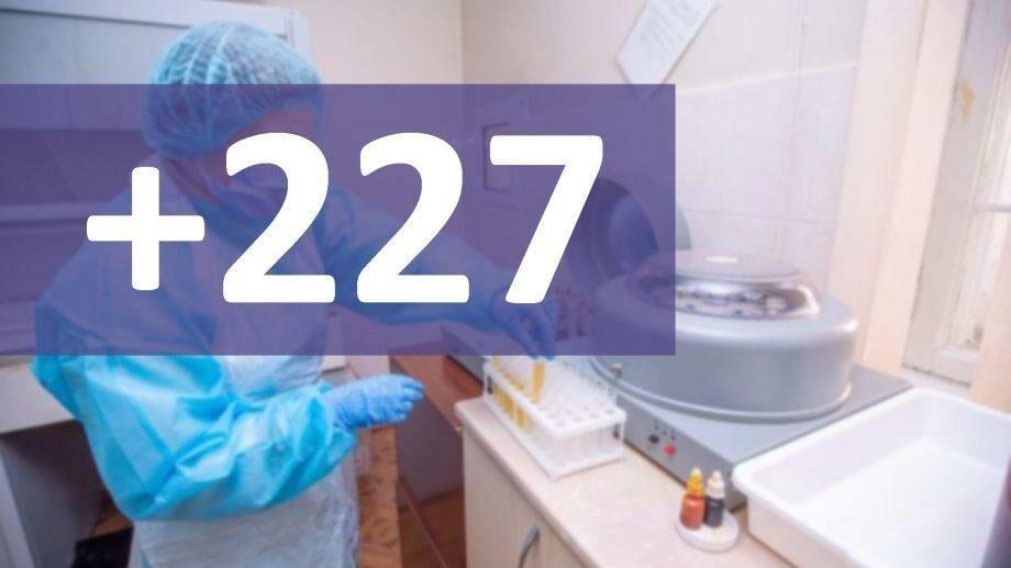 В Молдове подтвердили 227 новых случаев коронавируса
