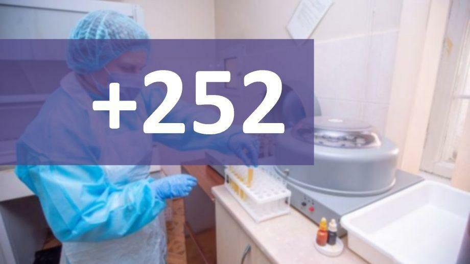 В Молдове подтвердили 252 новых случая коронавируса