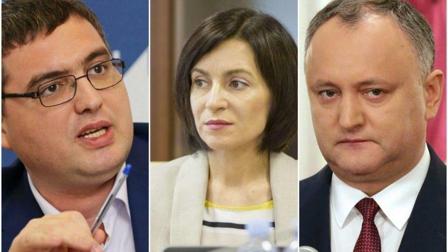 (опрос) Четыре молдавских политика, которым больше всего доверяют граждане