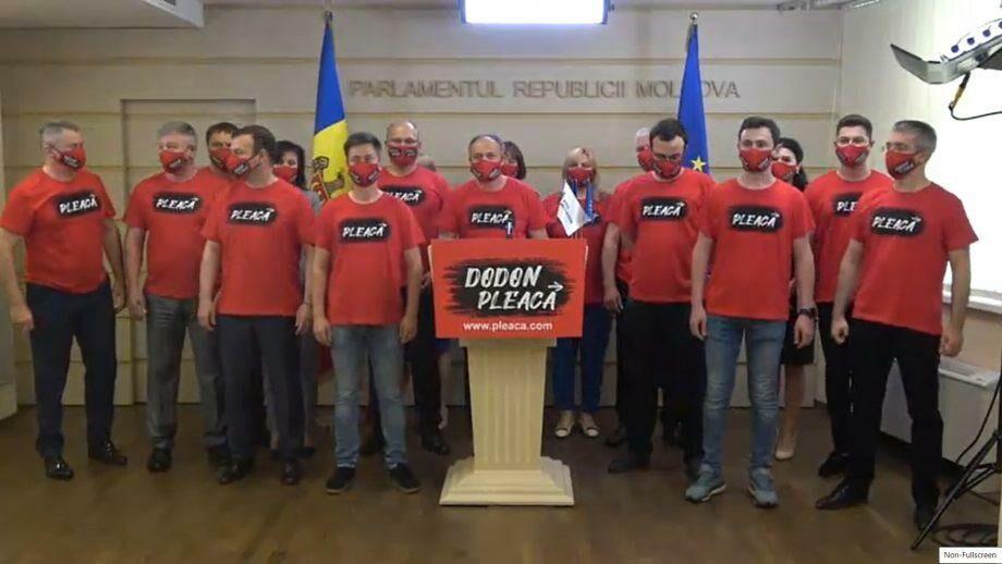 (видео) Депутаты Pro Moldova запустили онлайн-петицию за отставку Игоря Додона