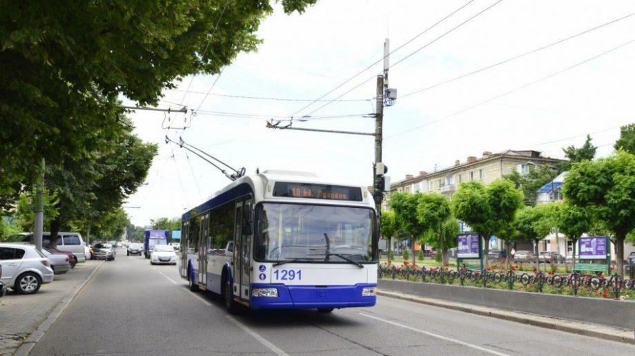 Общественный транспорт в Кишиневе будет ходить в нормальном режиме в эти выходные