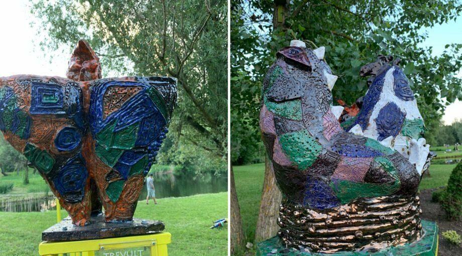 (фото) Кто и зачем создал скульптуры, установленные в Ботаническом саду