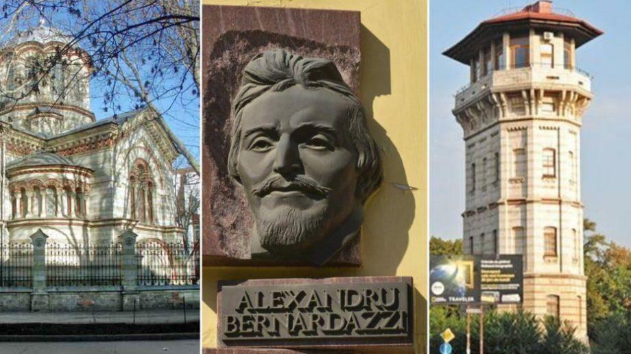 (фото) 189 лет со дня рождения Александра Бернардацци. Какие работы архитектора украшают Кишинев