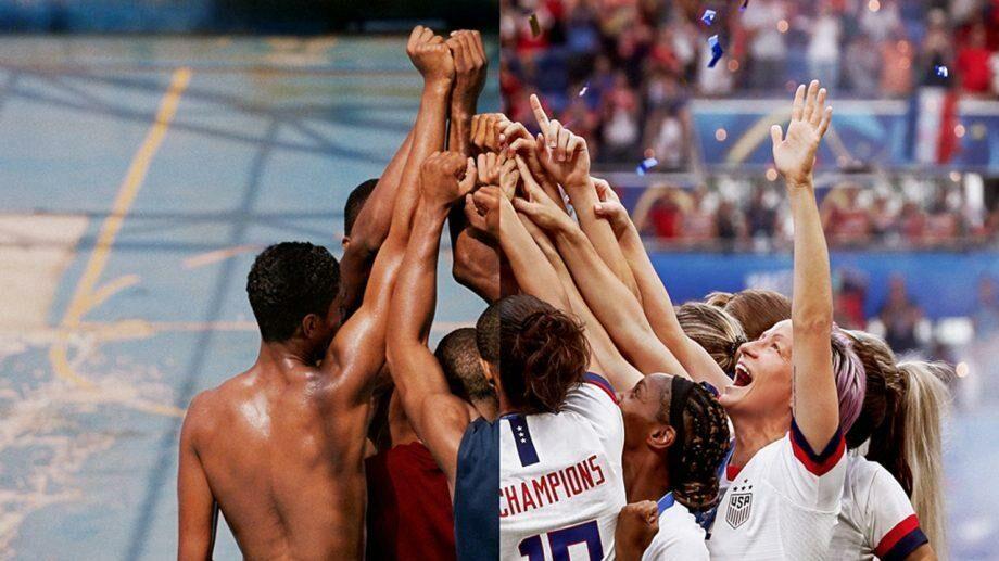 (видео) «Нас/Спорт не остановить». Nike выпустил ролик, посвященный возобновлению чемпионата NBA